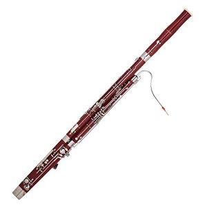 ammoon C Key Bassoon Maple Wood Body Woodwind Instrument