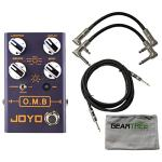 Joyo R Series R-06 OMB Looper Pedal with Drum Machine Function w/Geartree Cloth