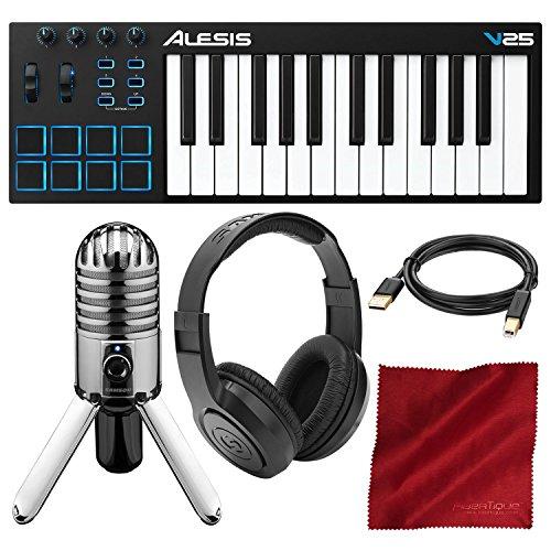 Alesis 25-Key USB MIDI Keyboard Controller & Drum Pad