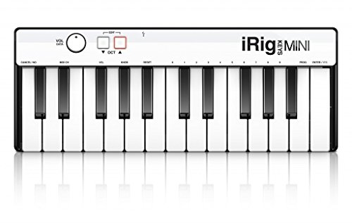 IK Multimedia iRig Keys MINI 25-key universal keyboard controller for iPhone