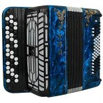 Brand NEW Russian Chromatic Button Accordion, Perfect Bayan for Beginner