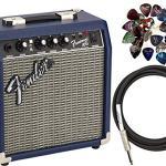 Fender Frontman 10G Electric Guitar Amplifier - Midnight Blue Bundle
