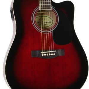 Jameson Guitars Full Size Thinline Acoustic Electric Guitar