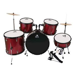 22inch 5 Piece Adults Drum Set, Les Ailes de la Voix Complete Full Size