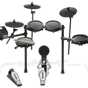 Alesis Drums Nitro Mesh Kit | Eight Piece All Mesh Electronic Drum Kit