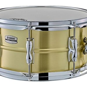 Yamaha Recording Custom 13x6.5 Brass Snare Drum