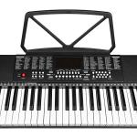 Best Choice Products 61-Key Beginners Electronic Keyboard Piano Set w/LED, 3 Teaching Modes, H-Stand, Stool, Microphone 3