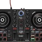 Hercules DJControl Inpulse 200 | Portable USB DJ Controller with Beatmatch Guide, DJ Academy and full DJ software DJUCED included 2