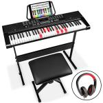 Best Choice Products 61-Key Beginners Electronic Keyboard Piano Set