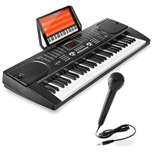 Hamzer 61-Key Digital Music Piano Keyboard - Portable Electronic Musical