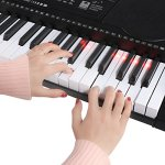 Joy 61-Key Lighting Keyboard with USB Music Player Function, Including Headphone, Stand & Stool (Kl-91MKit) 2