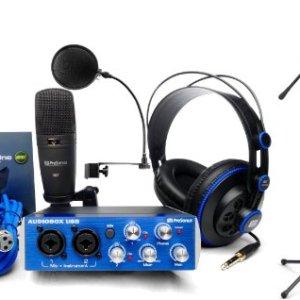 Presonus AudioBox Studio Recording Interface w/Headphones