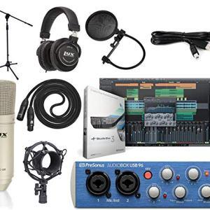 Presonus AudioBox USB 2.0 Audio Interface Studio Bundle