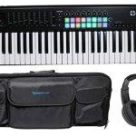 Novation LAUNCHKEY-49-MK2 49-Key USB Keyboard Controller+Headphones