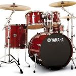 Yamaha Stage Custom Birch Drum Set – Cranberry Red