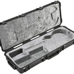 SKB Injection molded Les Paul Flight Case - TSA Latches