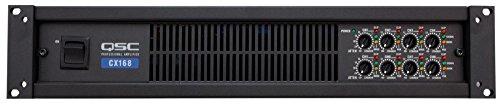 QSC Power Amplifier 130 Watts 8 channel at 4 Ohms 3-Pin Detachable-Blocks