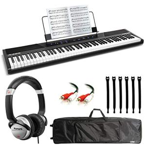 Alesis Concert 88-Key Digital Piano with Full-Size Semi Weighted Keys