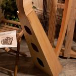 Roosebeck 23-String Heather Harp w/Full Chelby Levers 3
