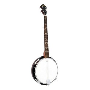 5-String Geared Tunable Banjo with White Jade Tune Pegs & Rosewood