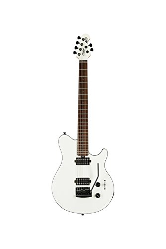 Sterling By MusicMan 6 String Sterling by Music Man Axis AX3S Electric Guitar Body, White with Black Binding (AX3S-WH-R1)