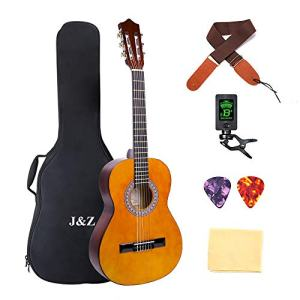Beginner Guitar Acoustic Classical Guitar 3/4 Junior Size 36 inch