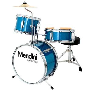 13 inch 3-Piece Kids/Junior Drum Set with Throne