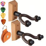 Guitar hanger Guitar wall mount hangers for wall,Acoustic Electric and Bass Guitar hook holder wall mount hangers