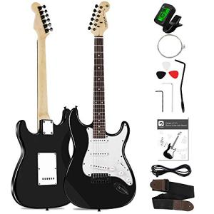 Electric Guitar Beginner 39 Inch Full Size Solid Wood