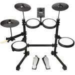 RockJam Mesh Head Kit, Eight Piece Electronic Drum Kit with Mesh Head