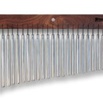 TreeWorks Chimes TRE23 Made in USA Medium Single Row Bar Chime, 23-Bar Wind Chime (VIDEO)