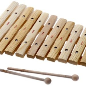 D'Luca XL12A 12 Notes Wood Xylophone with Music Cards