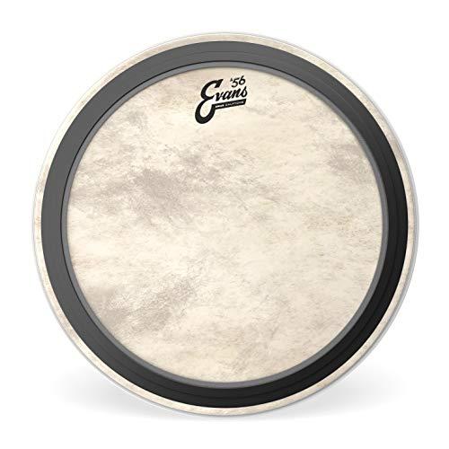 """Evans EMAD Calftone Tom Hoop Drum Head, 16"""""""