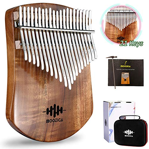 Single Solid Wood Board Professional Kalimba Thumb Piano Marimba