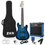 LyxPro 30 Inch Electric Guitar Starter Kit for Kids