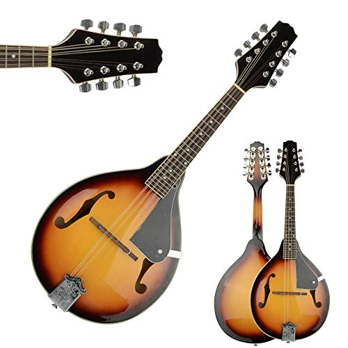 Elegant Mandolin Rosewood with Guard Board Sunset