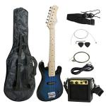 Kids Electric Guitar with 5W Amplifier, Picks, Gig Bag