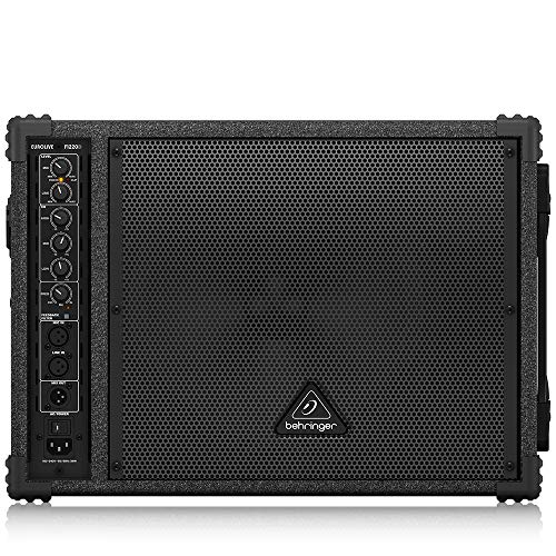 "BEHRINGER F1220D Bi-Amped 250-Watt Monitor Speaker System with 12"" Woofer 1"" Compression Driver and Feedback Filter Black"