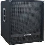 """Sound Town METIS Series 1800 Watts 15"""" Powered Subwoofer with Class-D Amplifier, 4-inch Voice Coil (METIS-15SDPW)"""