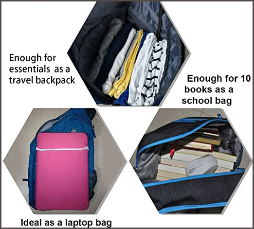 One Strap Backpack Multi Functions Sling Bag