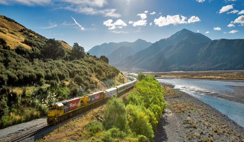 Traveling to New Zealand by Train