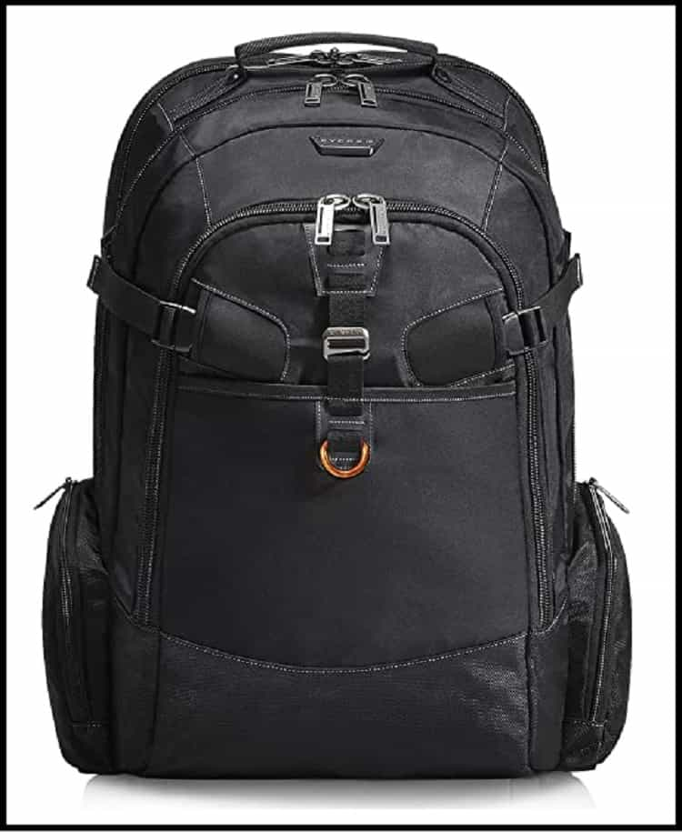 EVERKI Business 120 Large Professional 18.4-Inch Workstation or Gaming Laptop Backpack with Rain Cover