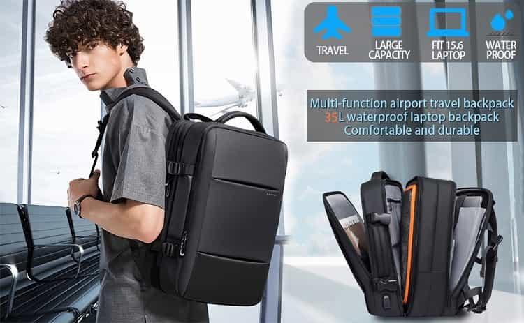 Flight Approved Carry On Backpack for International Travel Bag