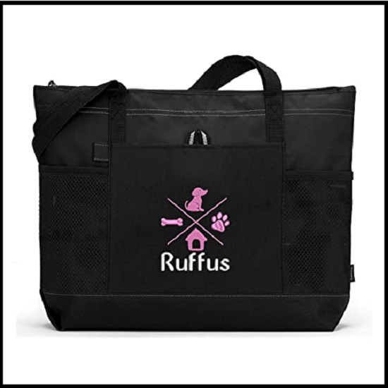 Personalized Embroidered Tote Gear Travel