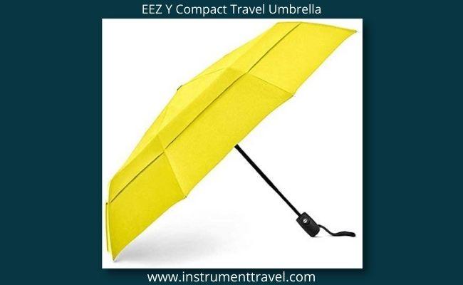 EEZ Y Compact Travel Umbrella