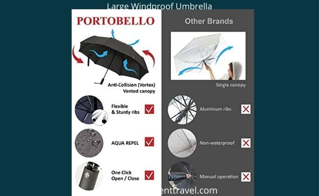 Large Windproof Umbrella