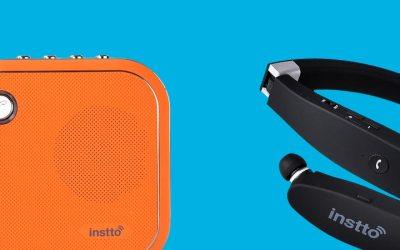 Nota en PrensarioTI :  Nueva linea de altavoces y auriculares