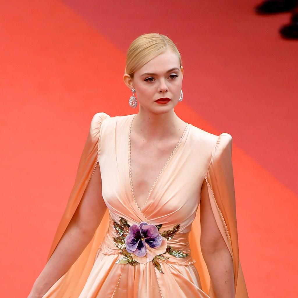 Elle Fanning es la nueva reina del red carpet del Festival de Cannes
