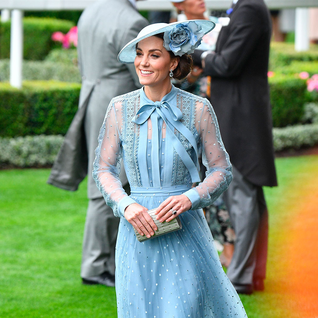 Kate Middleton llega a Royal Ascot con el vestido ideal de invitada