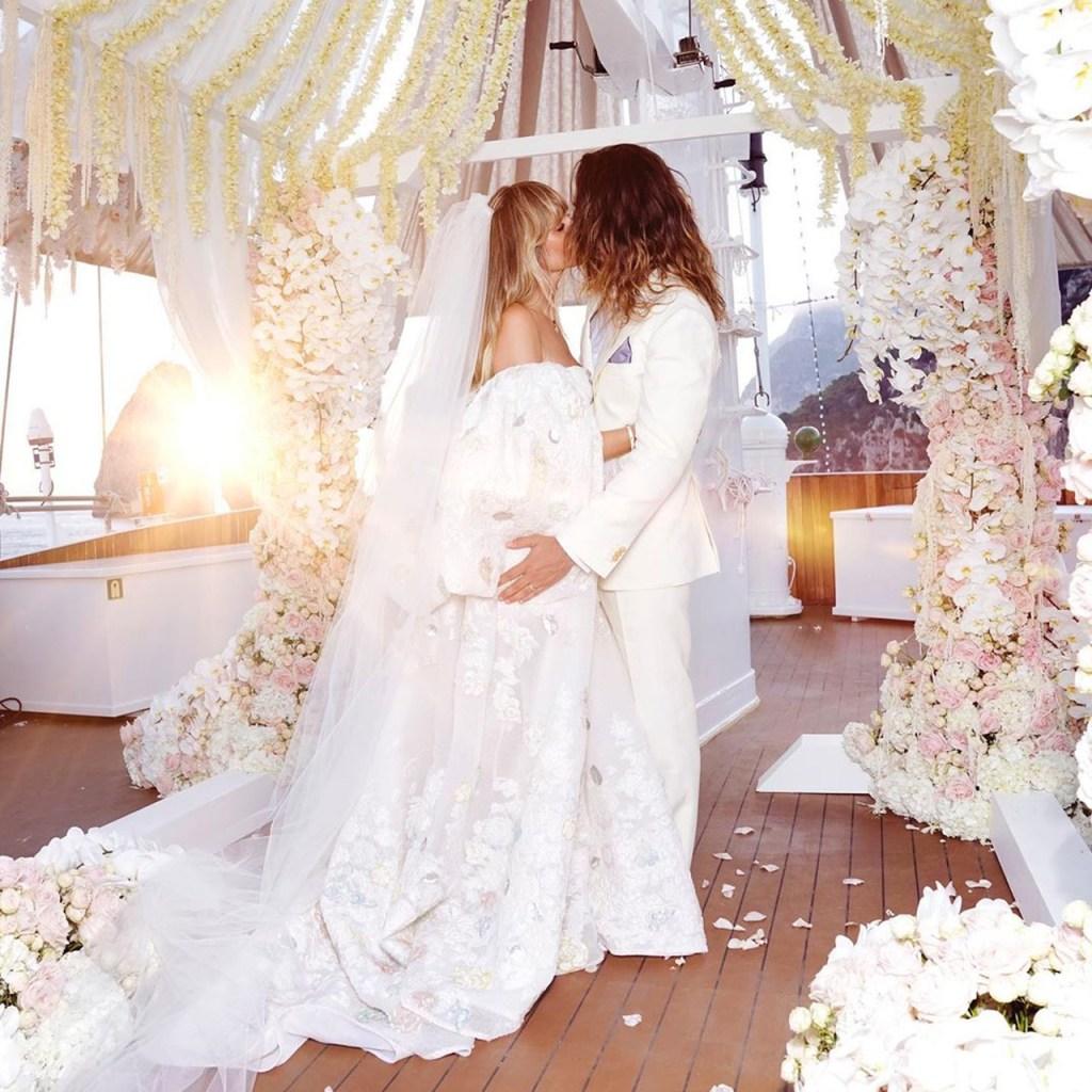 ¡Es oficial! Heidi Klum se casó en secreto con Tom Kaulitz